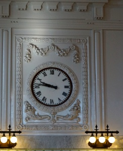 King Station Clock